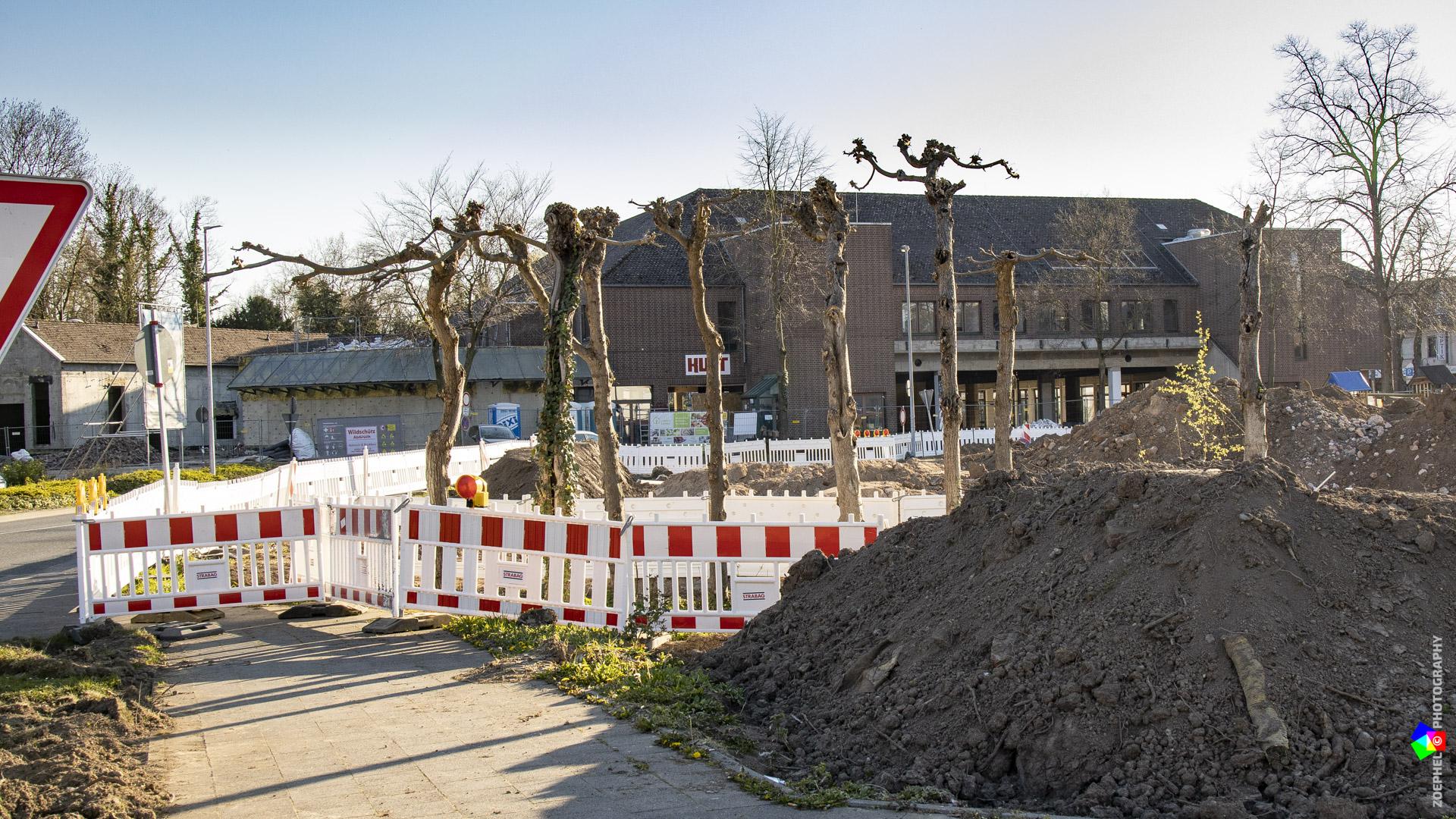Laubengang Schloss Bedburg – April 2020