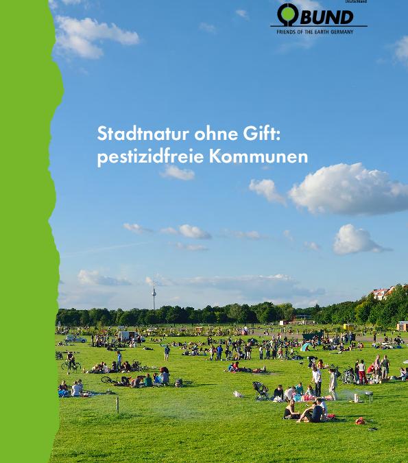 Stadtnatur ohne Gift: pestizidfreie Kommunen